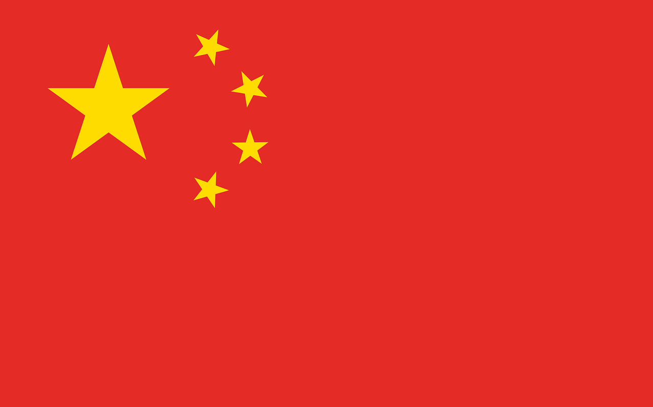 china, flag, country