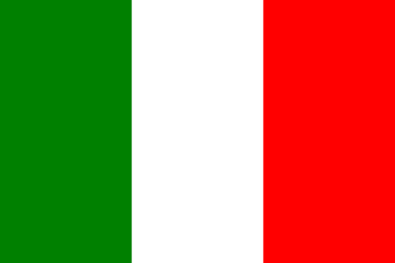 italy, flags, national